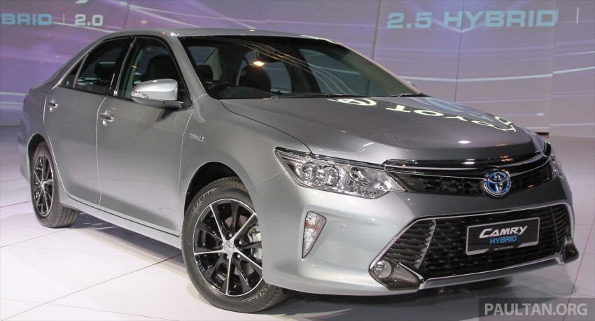 2015 Toyota Camry launched in Malaysia – new 6-spd 2.0E RM150k, 2.0G RM160k, 2.5 Hybrid RM175k Image #324566