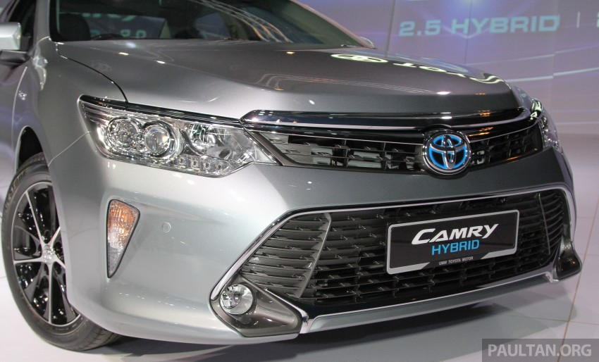 2015 Toyota Camry launched in Malaysia – new 6-spd 2.0E RM150k, 2.0G RM160k, 2.5 Hybrid RM175k Image #324567