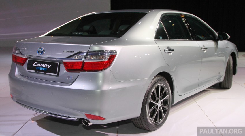 2015 Toyota Camry launched in Malaysia – new 6-spd 2.0E RM150k, 2.0G RM160k, 2.5 Hybrid RM175k Image #324578