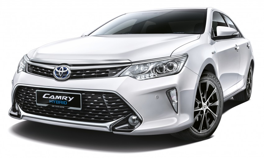 2015 Toyota Camry launched in Malaysia – new 6-spd 2.0E RM150k, 2.0G RM160k, 2.5 Hybrid RM175k Image #323937