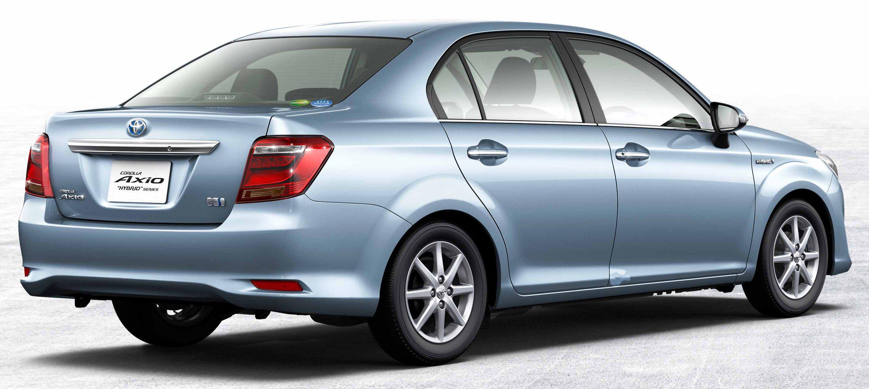 2015 Toyota Corolla Fielder Car Interior Design