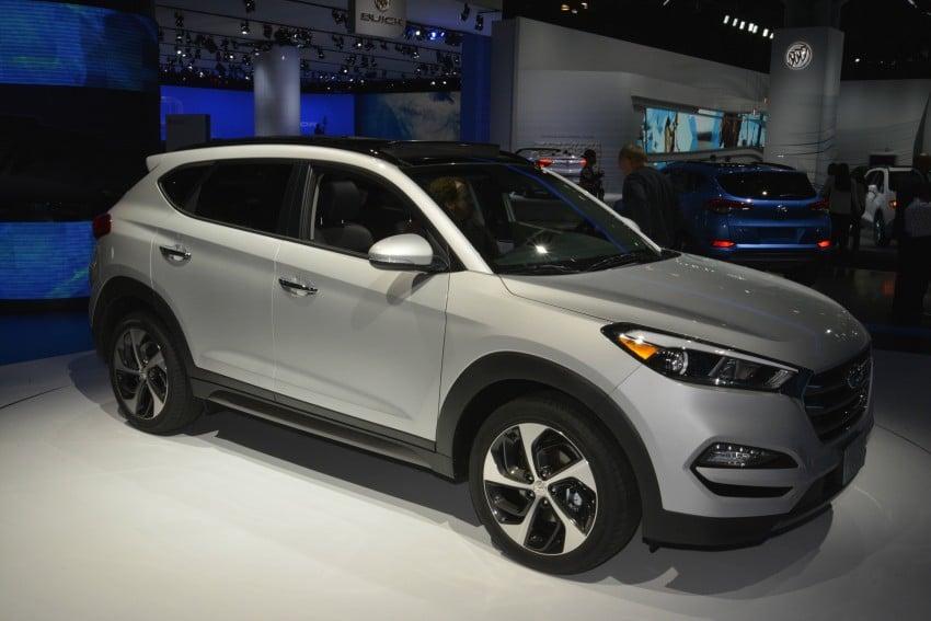 Third-generation Hyundai Tucson makes US debut Image #325355