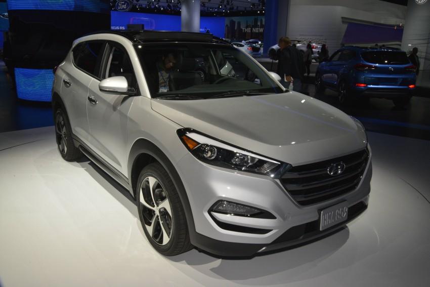 Third-generation Hyundai Tucson makes US debut Image #325357