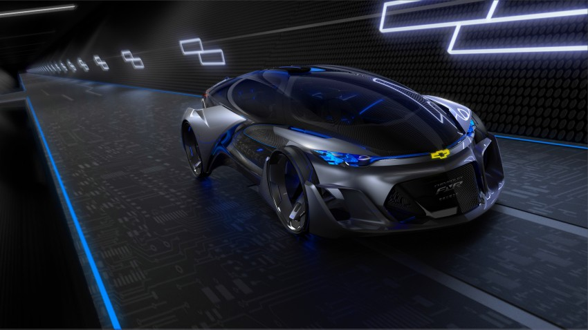 Shanghai 2015: Chevrolet FNR previews a mad future Image #331185