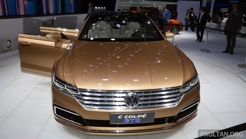 Shanghai 2015: Volkswagen C Coupe GTE Concept Image #330616