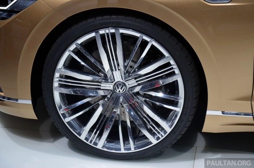 Shanghai 2015: Volkswagen C Coupe GTE Concept Image #330622