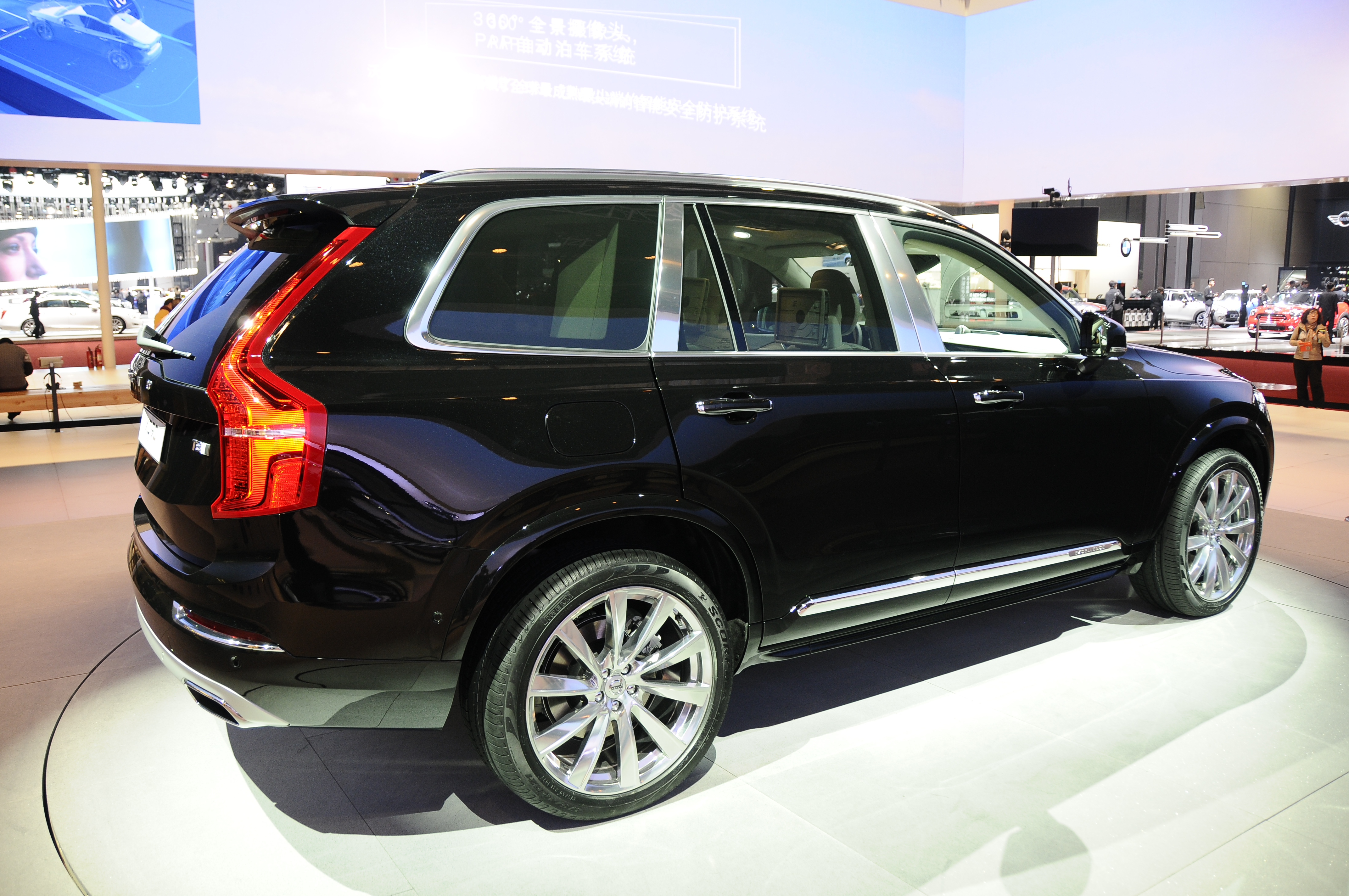 volvo xc90 excellence luxurious 4 seat suv debuts image 332623. Black Bedroom Furniture Sets. Home Design Ideas