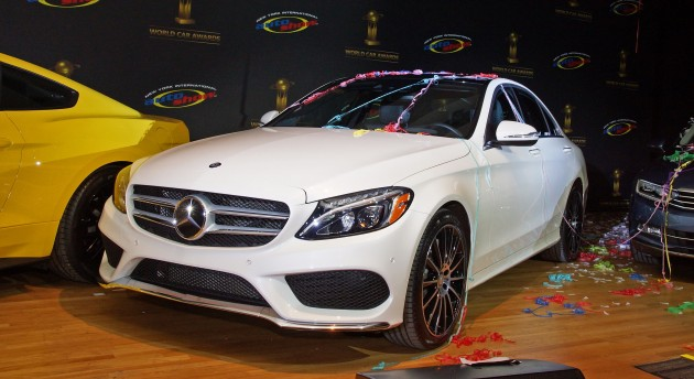 Mercedes Benz C Class Is 2015 World Car Of The Year