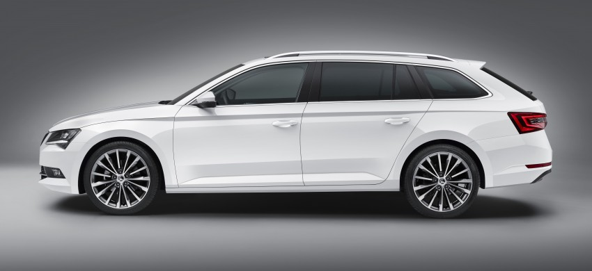 2015 Skoda Superb Combi revealed with up to 1,950 litres of storage space, goes on sale in September Image #342980