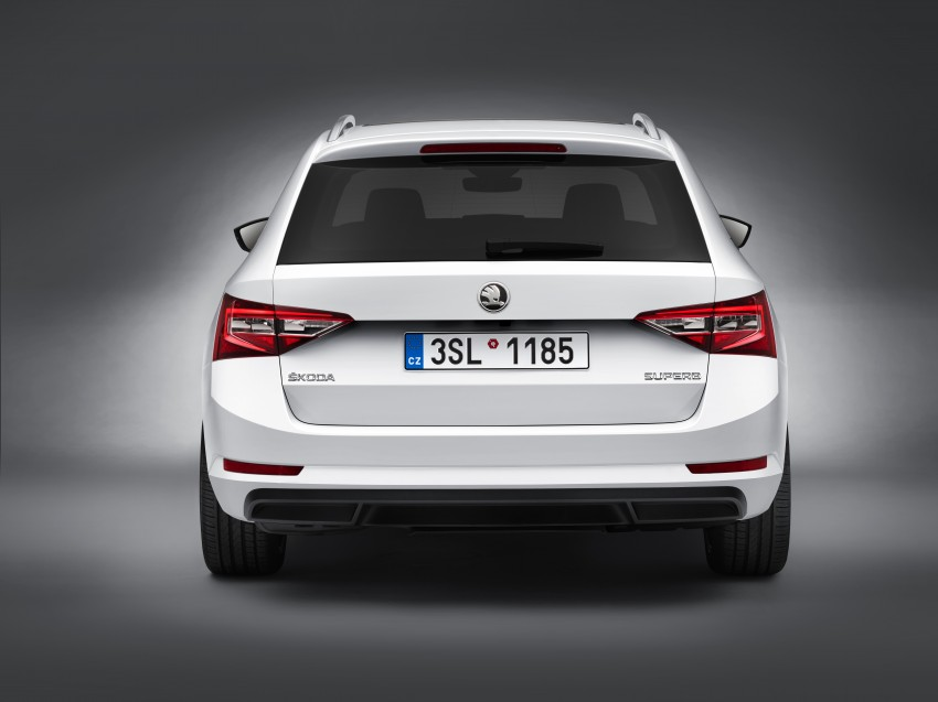 2015 Skoda Superb Combi revealed with up to 1,950 litres of storage space, goes on sale in September Image #342977