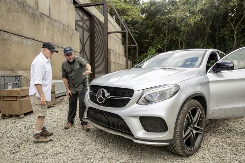 Mercedes-Benz GLE Coupe to star in <em>Jurassic World</em> Image #341043