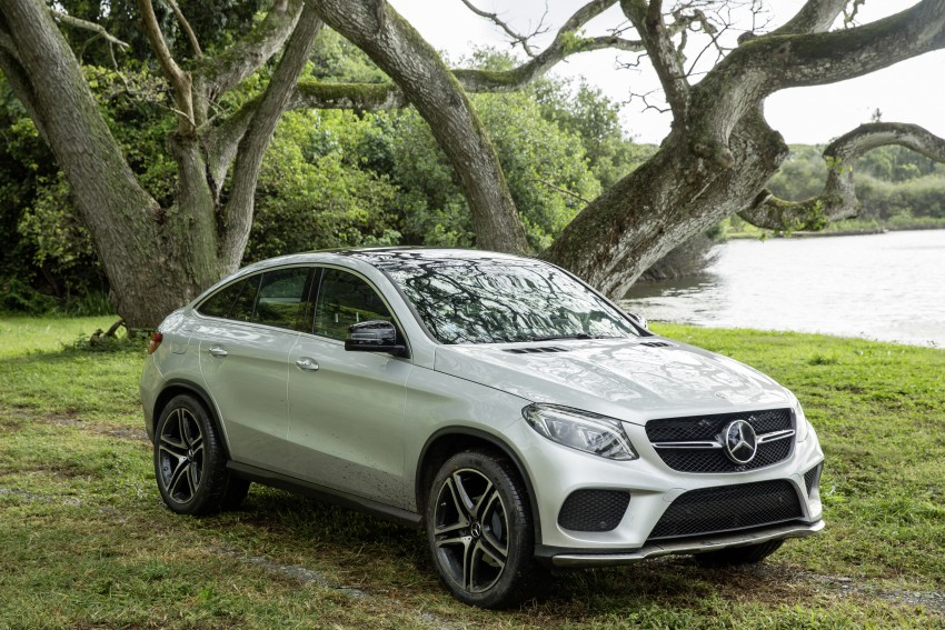 Mercedes-Benz GLE Coupe to star in <em>Jurassic World</em> Image #341044