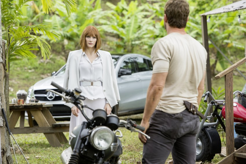Mercedes-Benz GLE Coupe to star in <em>Jurassic World</em> Image #341042