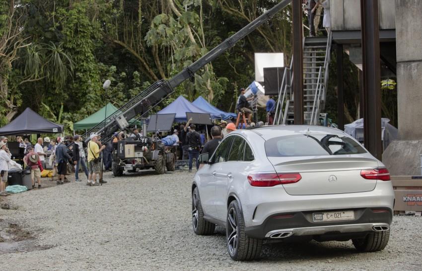 Mercedes-Benz GLE Coupe to star in <em>Jurassic World</em> Image #341046