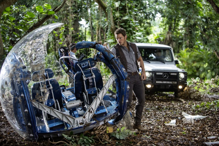 Mercedes-Benz GLE Coupe to star in <em>Jurassic World</em> Image #341049