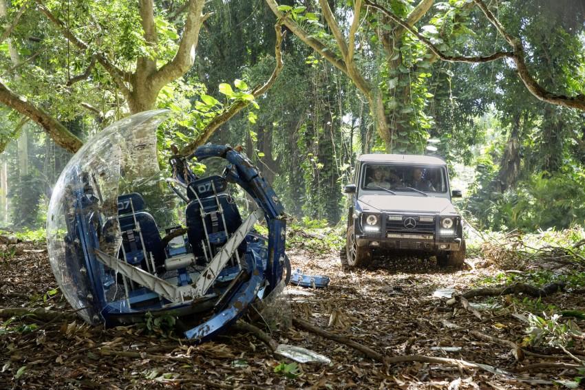 Mercedes-Benz GLE Coupe to star in <em>Jurassic World</em> Image #341051