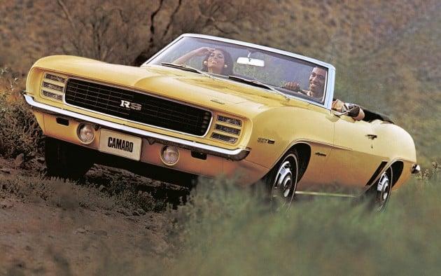 Chevrolet Camaro Pony Car History Over 50 Years