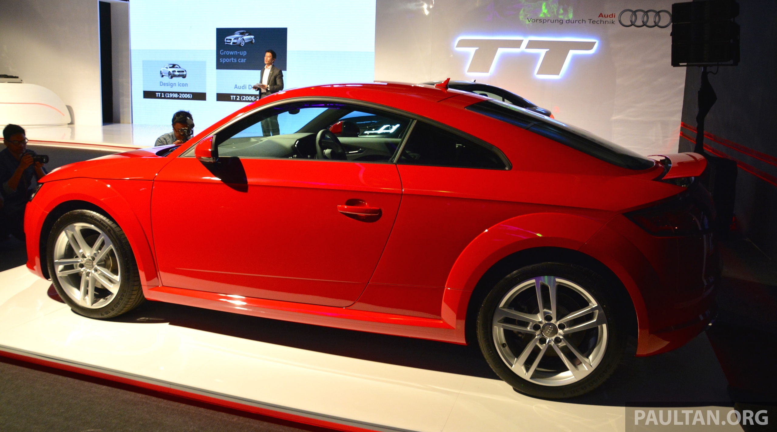 new audi tt launched in malaysia 2 0 tfsi rm285k image 336681. Black Bedroom Furniture Sets. Home Design Ideas