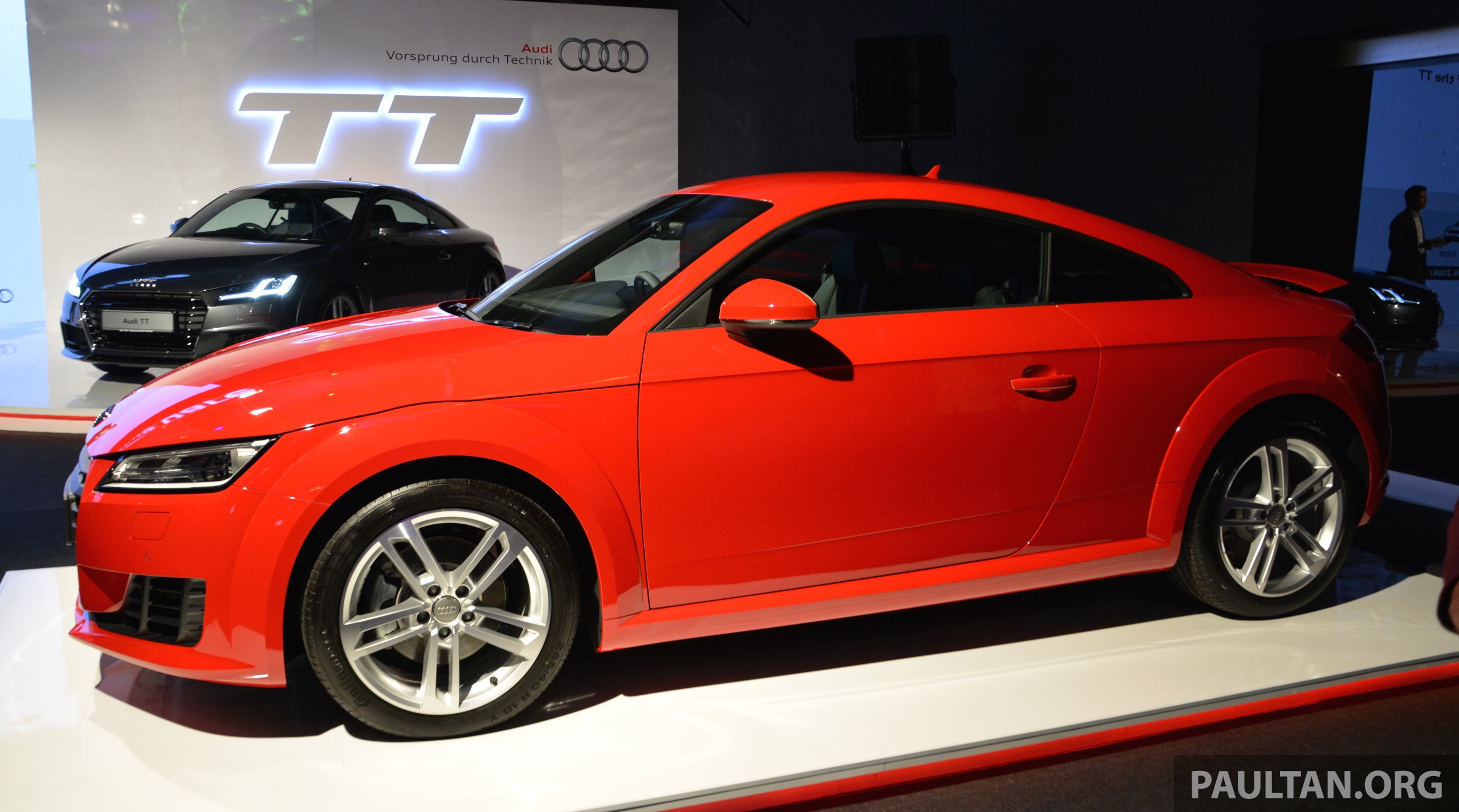 new audi tt launched in malaysia 2 0 tfsi rm285k image 336682. Black Bedroom Furniture Sets. Home Design Ideas