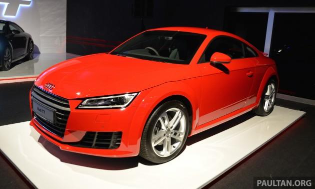 2015 Audi TT 2.0 TFSI 6