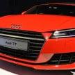 2015 Audi TT 2.0 TFSI 7