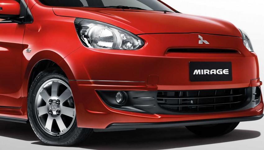 2015 Mitsubishi Mirage – minor update arrives, RM66k Image #338797
