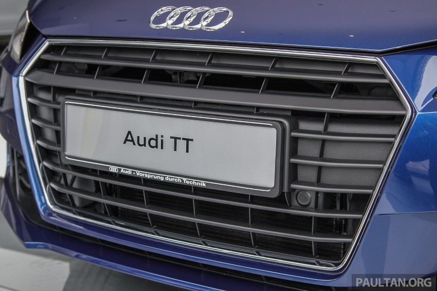 GALLERY: 2016 Audi TT 2.0 TFSI – a closer look Image #337320