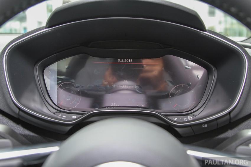 GALLERY: 2016 Audi TT 2.0 TFSI – a closer look Image #337344