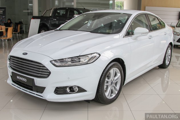 Ford Mondeo 2015 White >> 2015 Ford Mondeo Malaysia Infohub Paul Tan S Automotive News