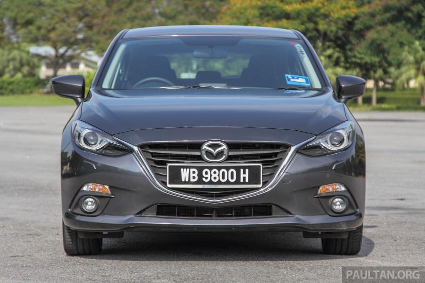 GALLERY: 2015 Mazda 3 CKD – Sedan vs Hatchback Image #337679