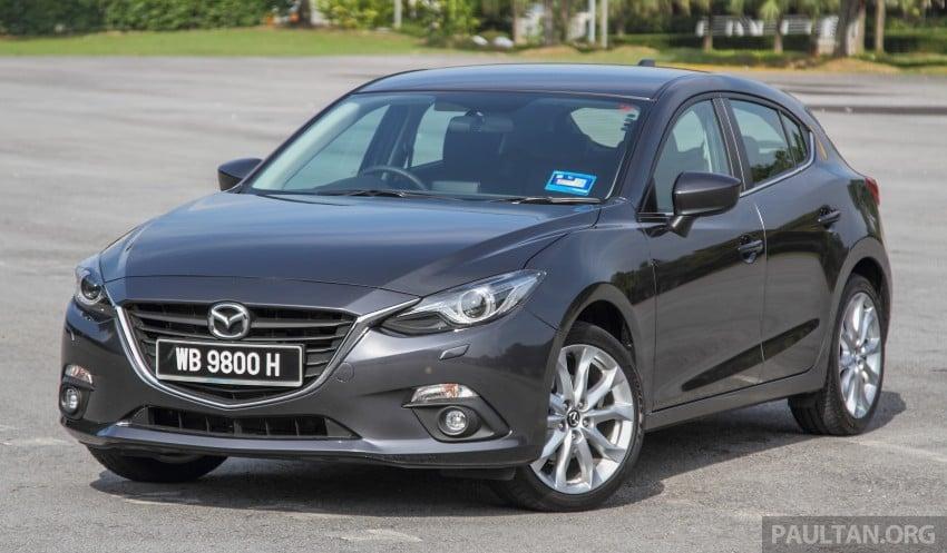 GALLERY: 2015 Mazda 3 CKD – Sedan vs Hatchback Image #337680