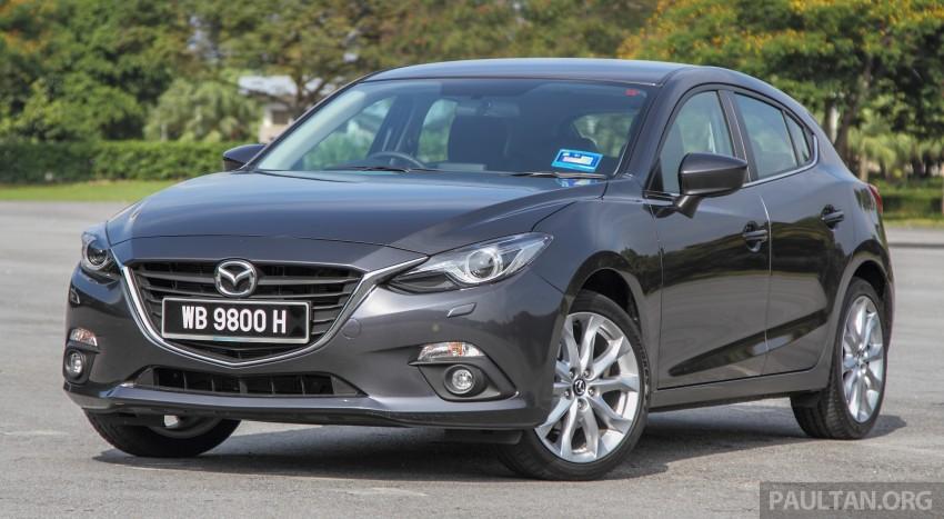 GALLERY: 2015 Mazda 3 CKD – Sedan vs Hatchback Image #337681