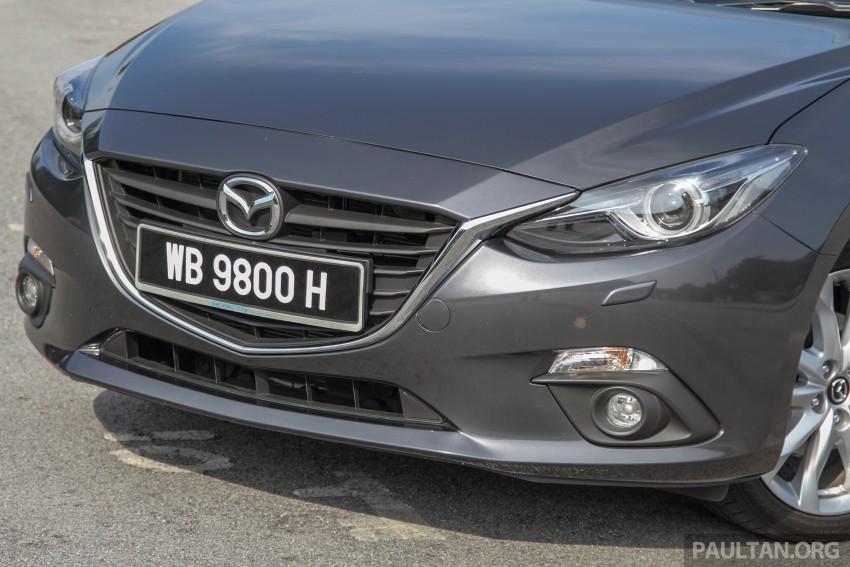 GALLERY: 2015 Mazda 3 CKD – Sedan vs Hatchback Image #337682