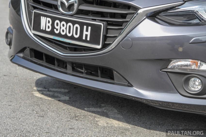GALLERY: 2015 Mazda 3 CKD – Sedan vs Hatchback Image #337686