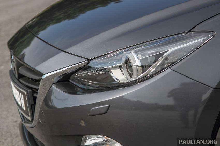 GALLERY: 2015 Mazda 3 CKD – Sedan vs Hatchback Image #337687