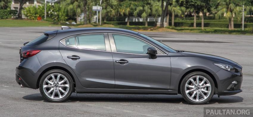 GALLERY: 2015 Mazda 3 CKD – Sedan vs Hatchback Image #337690