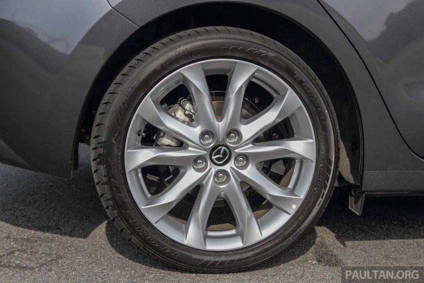 GALLERY: 2015 Mazda 3 CKD – Sedan vs Hatchback Image #337696