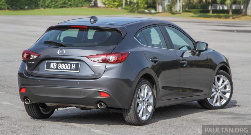 GALLERY: 2015 Mazda 3 CKD – Sedan vs Hatchback Image #337699