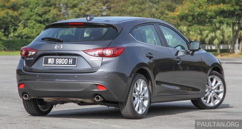 GALLERY: 2015 Mazda 3 CKD – Sedan vs Hatchback Image #337700