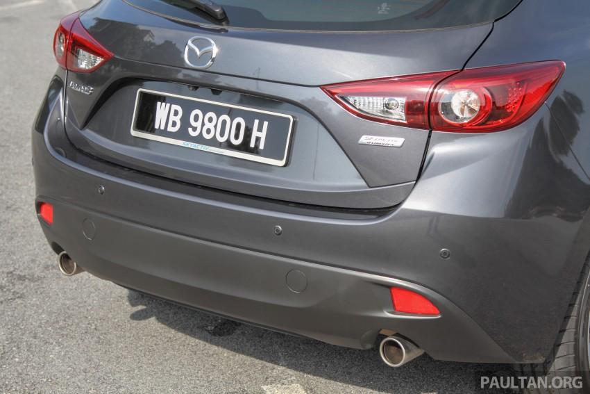 GALLERY: 2015 Mazda 3 CKD – Sedan vs Hatchback Image #337703