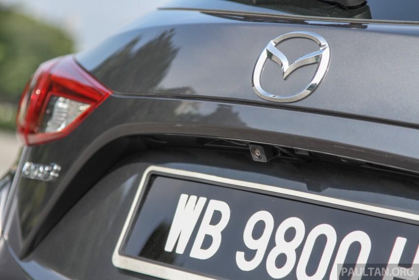 GALLERY: 2015 Mazda 3 CKD – Sedan vs Hatchback Image #337705