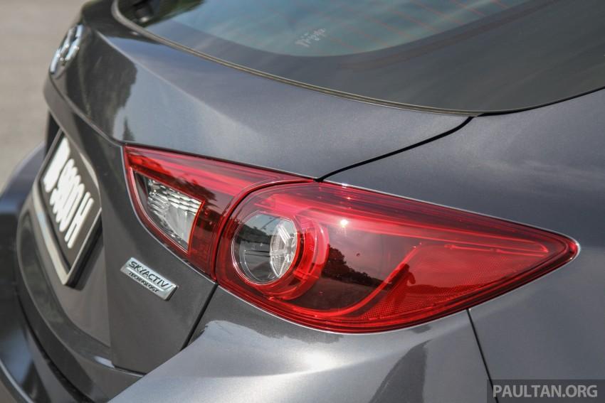 GALLERY: 2015 Mazda 3 CKD – Sedan vs Hatchback Image #337707