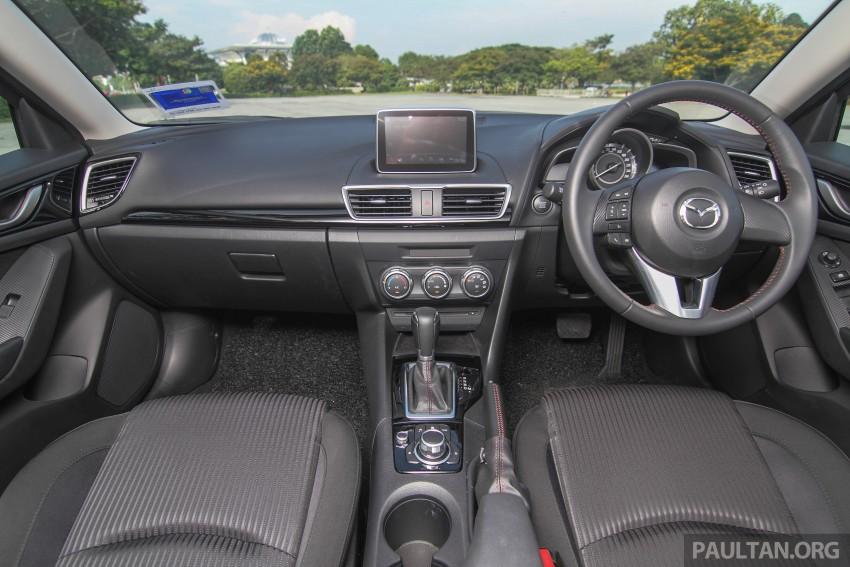 GALLERY: 2015 Mazda 3 CKD – Sedan vs Hatchback Image #337731