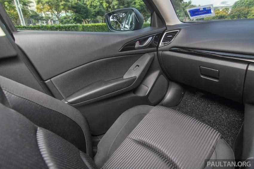 GALLERY: 2015 Mazda 3 CKD – Sedan vs Hatchback Image #337732