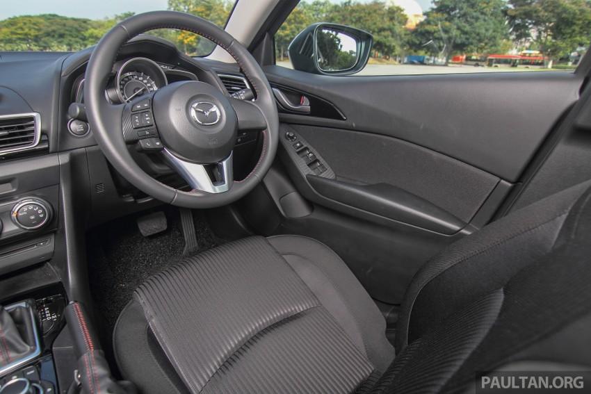 GALLERY: 2015 Mazda 3 CKD – Sedan vs Hatchback Image #337733