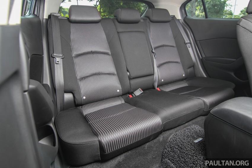 GALLERY: 2015 Mazda 3 CKD – Sedan vs Hatchback Image #337735