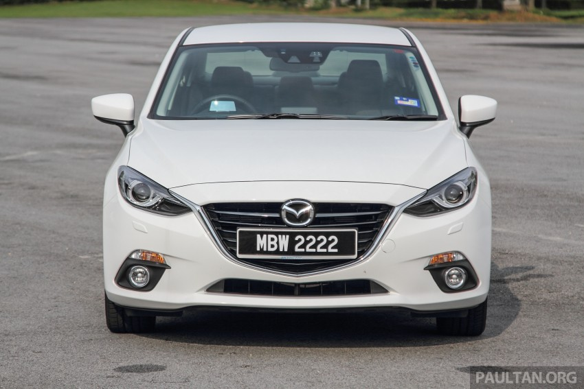 GALLERY: 2015 Mazda 3 CKD – Sedan vs Hatchback Image #337743