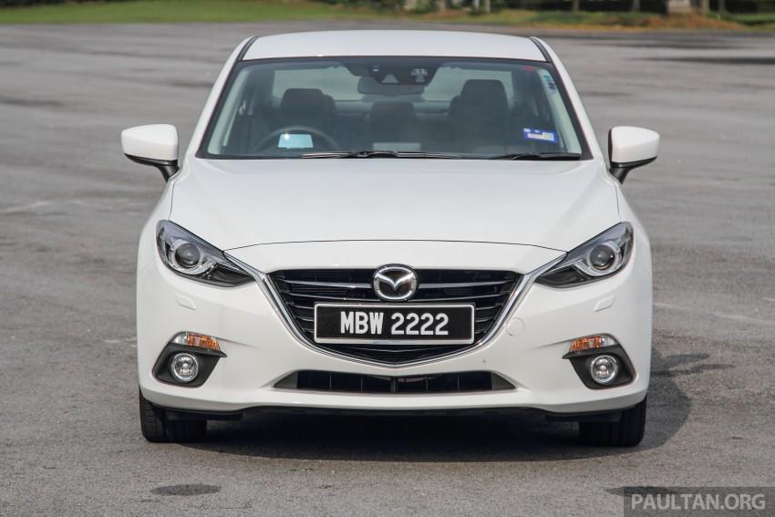 GALLERY: 2015 Mazda 3 CKD – Sedan vs Hatchback Image #337743