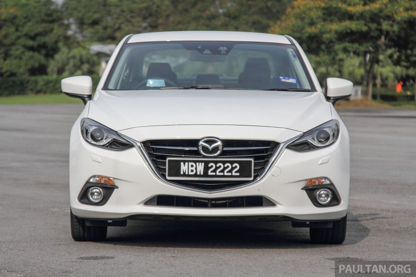GALLERY: 2015 Mazda 3 CKD – Sedan vs Hatchback Image #337744