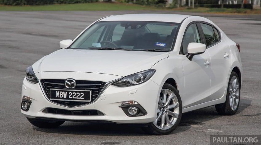 GALLERY: 2015 Mazda 3 CKD – Sedan vs Hatchback Image #337745